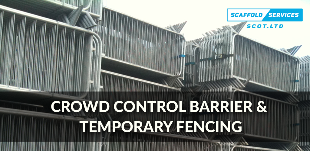 Temporary Fencing, Crowd Control Barriers and Hoarding Now Available!